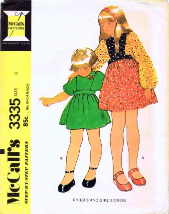 McCalls 1972 3335