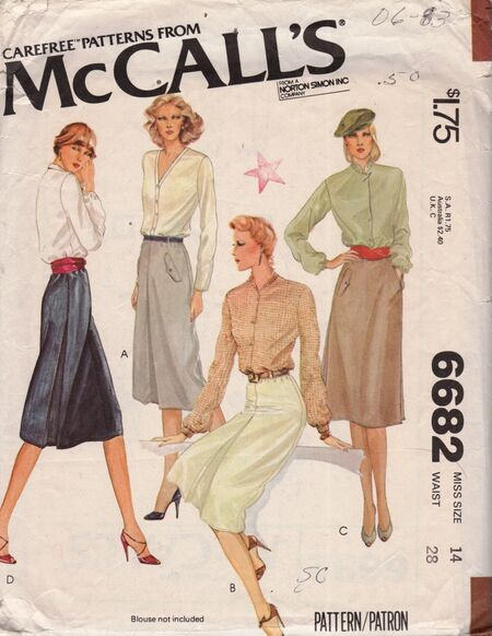 McCall's 6682 A image