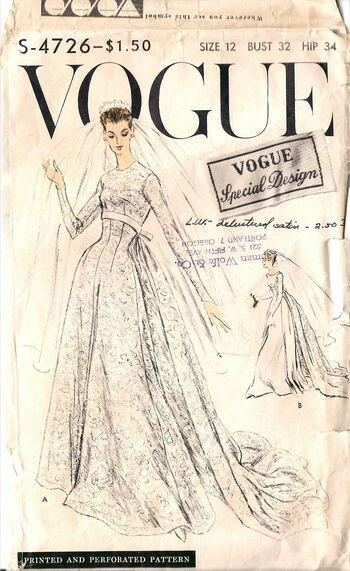 Vogue S-4726 Front