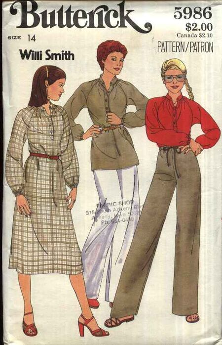 Butterick 5986 front