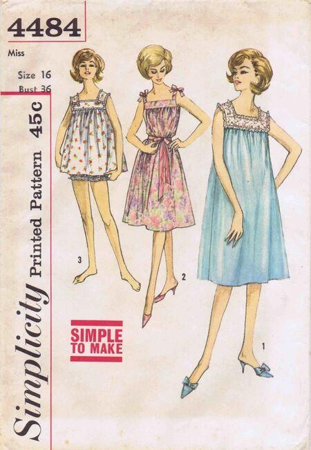 Simplicity 1962 4484