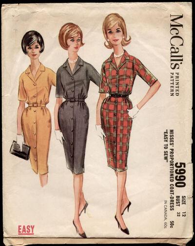 McCalls 5990 1961
