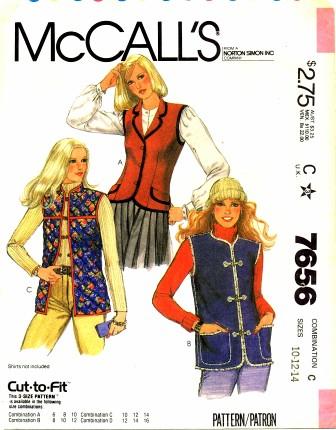 McCalls 1981 7656