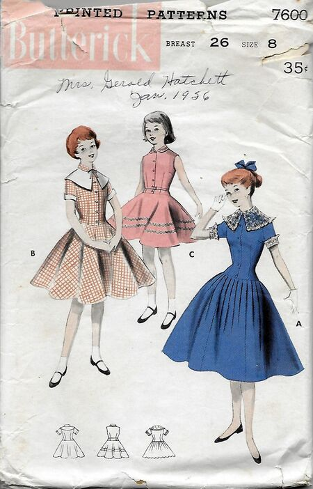 Butterick 7600 front