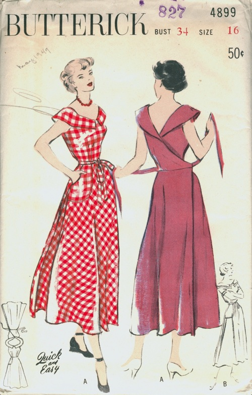 Butterick 4899 Vintage Sewing Patterns Fandom Powered