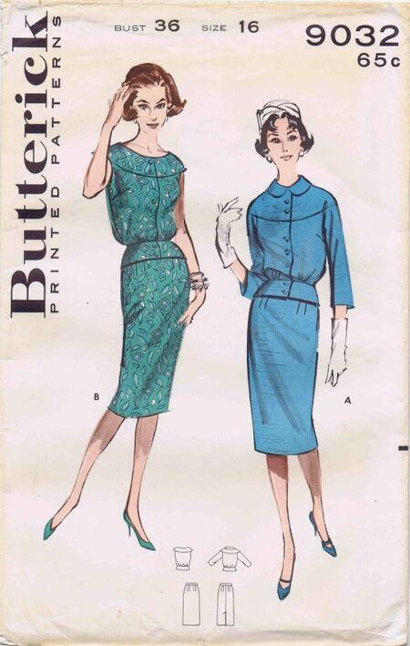 Butterick 1959 9032