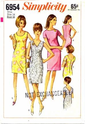 Simplicity 1966 6954