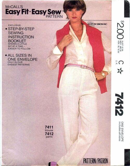 McCalls 1981 7412