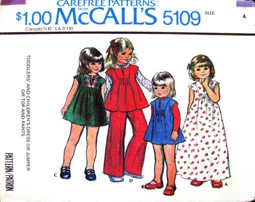 Mccalls 5109