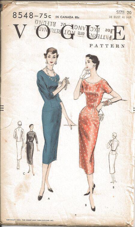 Vogue 8548