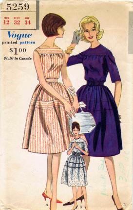 Vogue 1961 5259