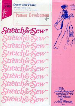 Stretch&sew3700queenpants