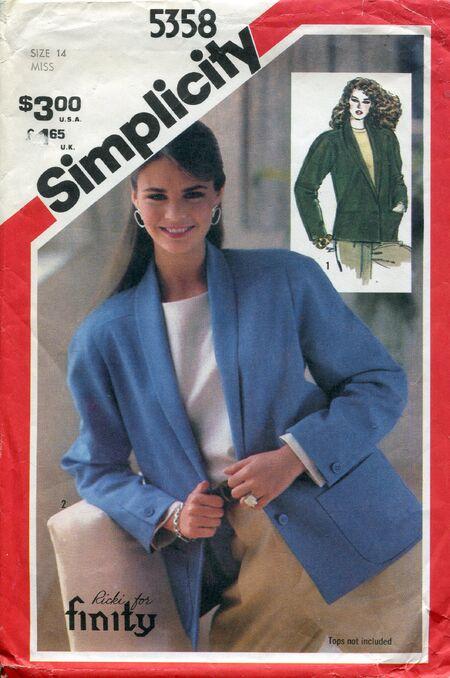 Simplicity5358jacket