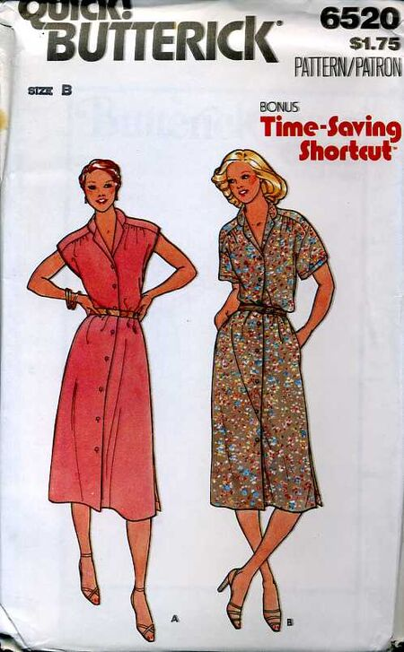 Butterick 6520 image