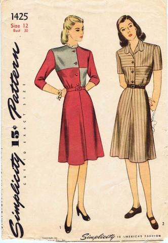 Simplicity 1945 1425