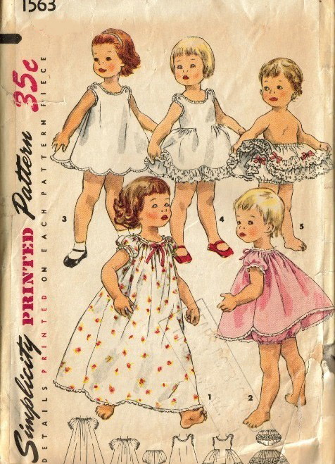 Simplicity 1563 Vintage Sewing Patterns Fandom Powered