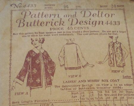 Butterick deltor 4433
