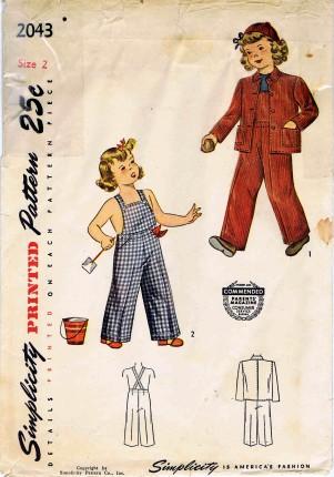 Simplicity 1947 2043