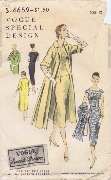 Vogue 1955-1956 S-4659