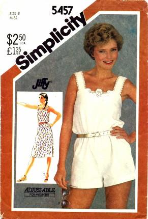 Simplicity 1982 5457
