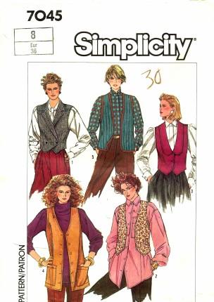 Simplicity 1985 7045
