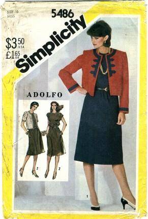 Simplicity 5486