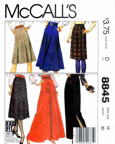 McCalls 1983 8845