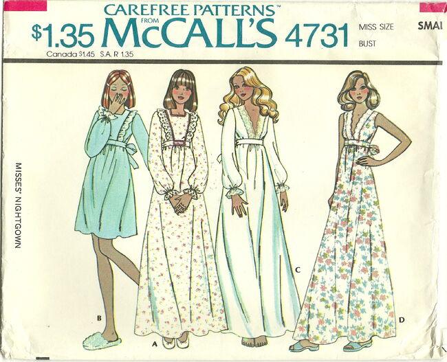 McCalls 4731