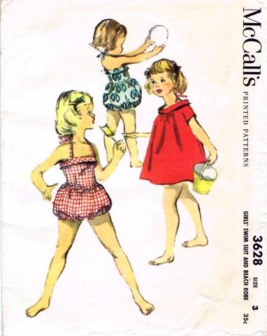 McCalls 1956 3628