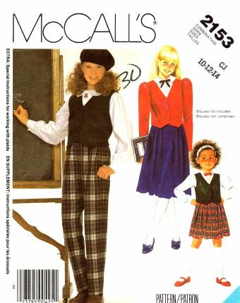 McCalls 1985 2153