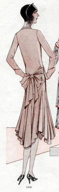 McCall 5369 1928 Back