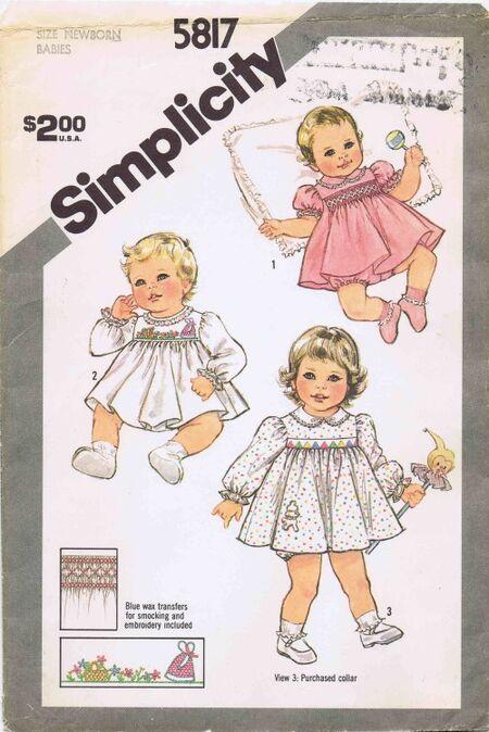 Simplicity 1982 5817