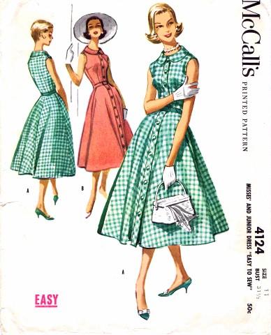 McCalls 1957 4124