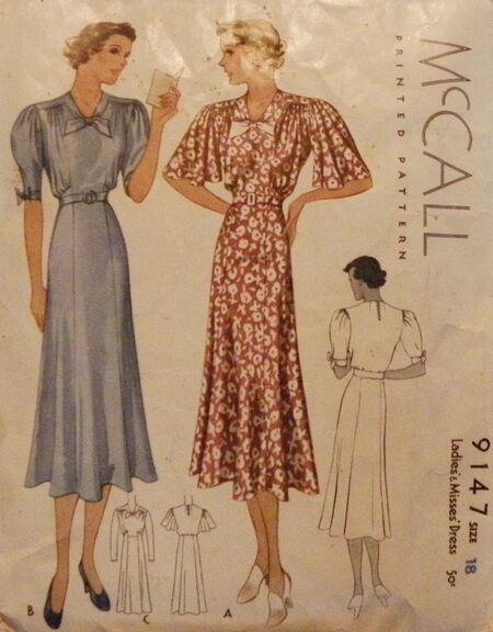 McCall 9147 (1940s)