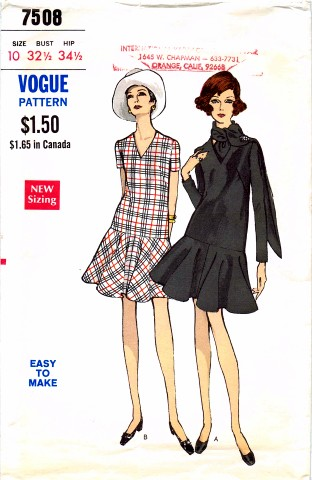 Vogue 7508 F Size 10