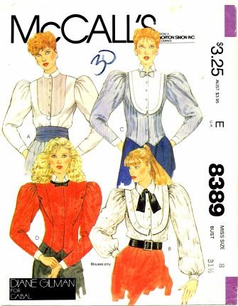McCalls 1983 8389