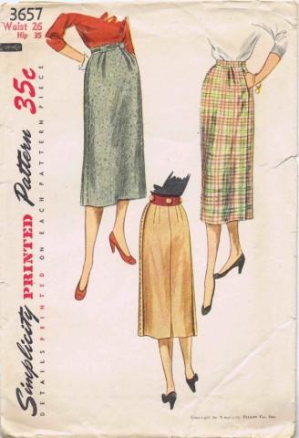 Simplicity 1951 3657