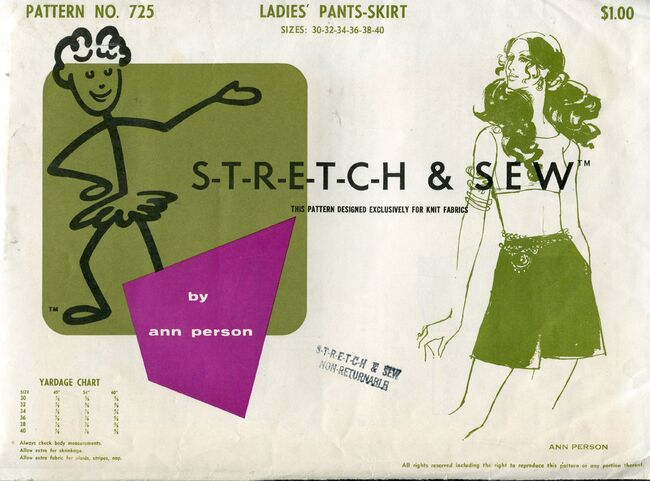 Stretch&sew725pantskirt