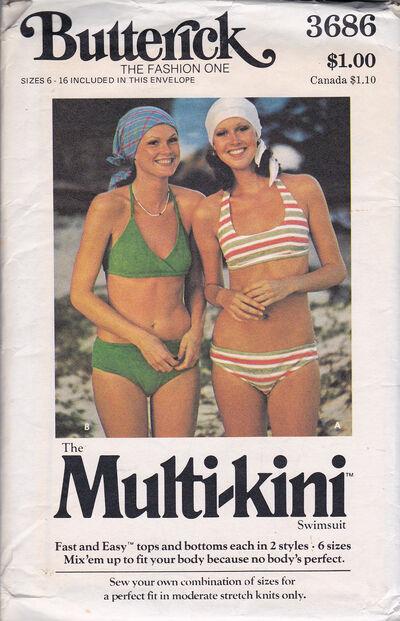Butterick bikini