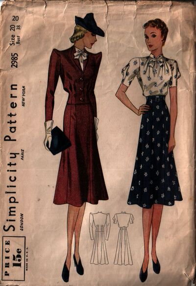 Simplicity 2985 front