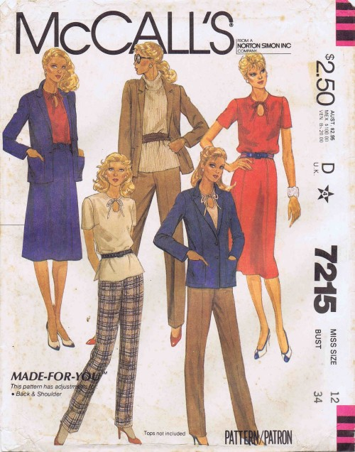 McCalls 1980 7215