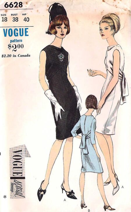 Vogue 6628