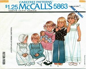 McCall's 5863