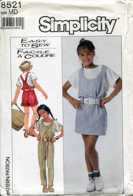 Simplicity8521overalls