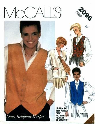 McCalls 1985 2096