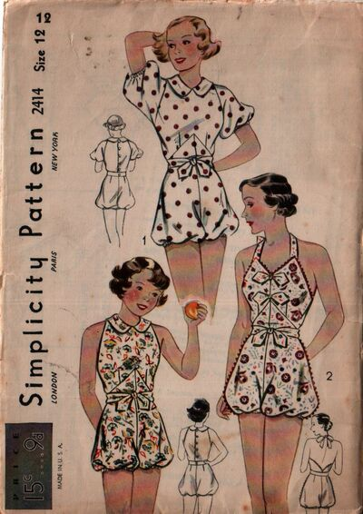 Simplicity 2414 front