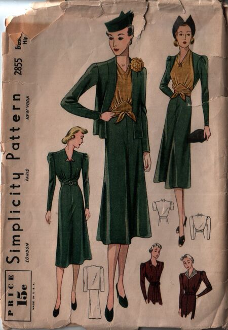 Simplicity 2855 front