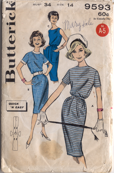 Butterick 9593 a 60