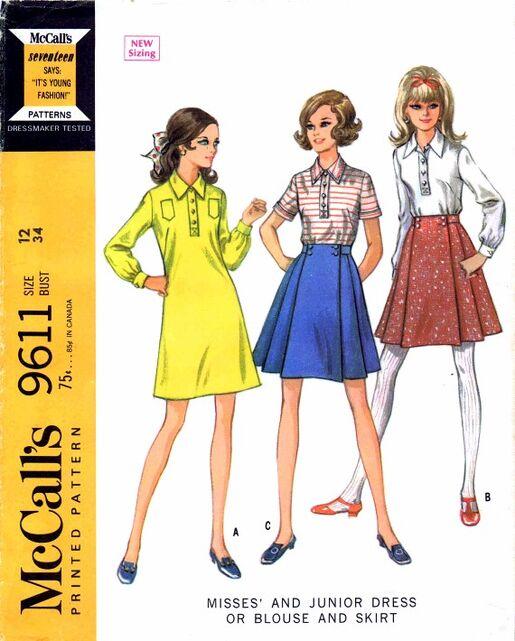 McCalls 1969 9611