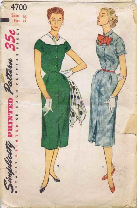 Simplicity 1954 4700